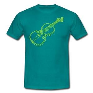 Violine  / Geige - Männer T-Shirt