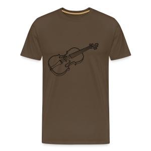 Violine  / Geige - Männer Premium T-Shirt