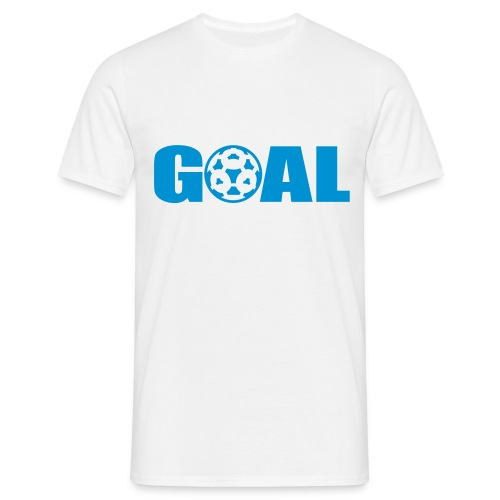 Goal - White - Men's T-Shirt