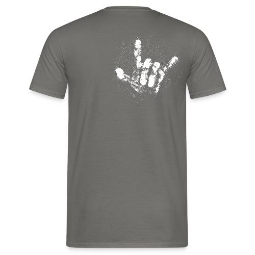 Chalk Hand - Männer T-Shirt