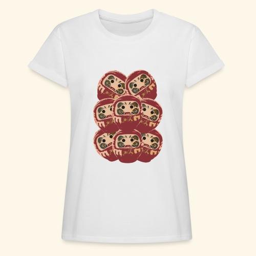 Daruma Pyramide Women - Frauen Oversize T-Shirt