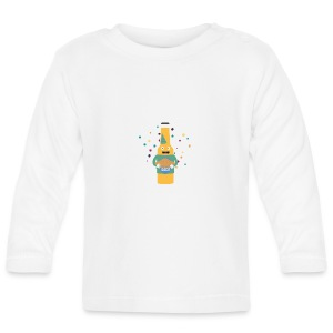 Party beer bottler with cake S4zzo Baby Long Sleeve Shirts - Baby Long Sleeve T-Shirt
