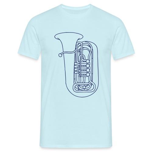 Tuba Blechblasinstrument - Männer T-Shirt