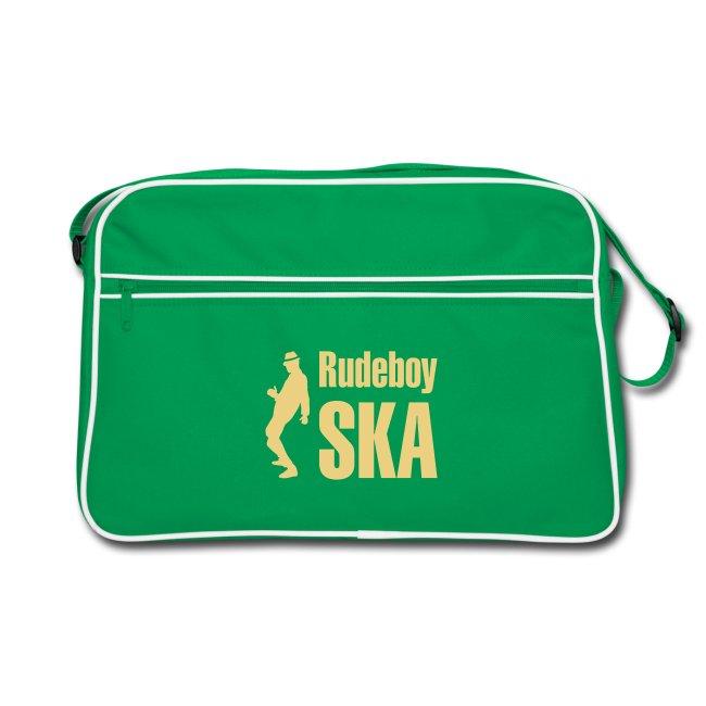 braune Retro-Tasche  Rudeboy Ska