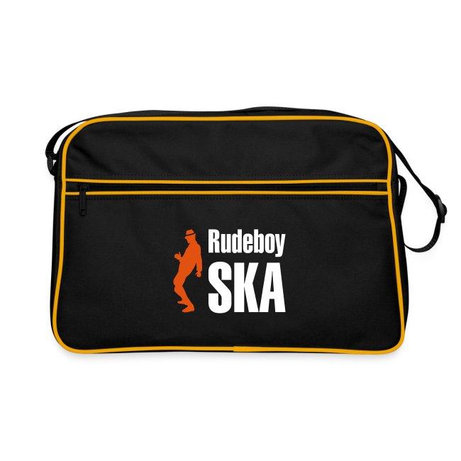 schwarze Retro-Tasche Rudeboy Ska