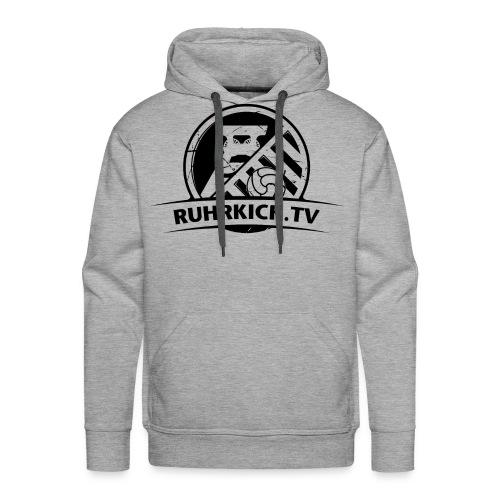 RUHRKICK.TV Hoodie / grau  - Männer Premium Hoodie