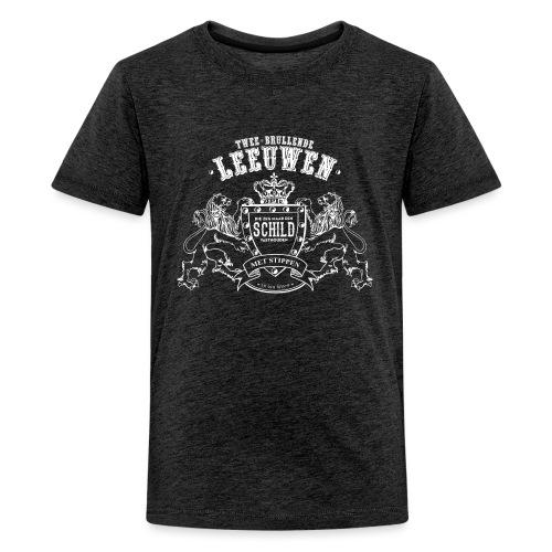Brullende leeuwen tienershirt - Teenager Premium T-shirt