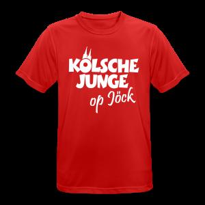 Kölsche Junge op Jöck Funktionsshirt - Männer T-Shirt atmungsaktiv