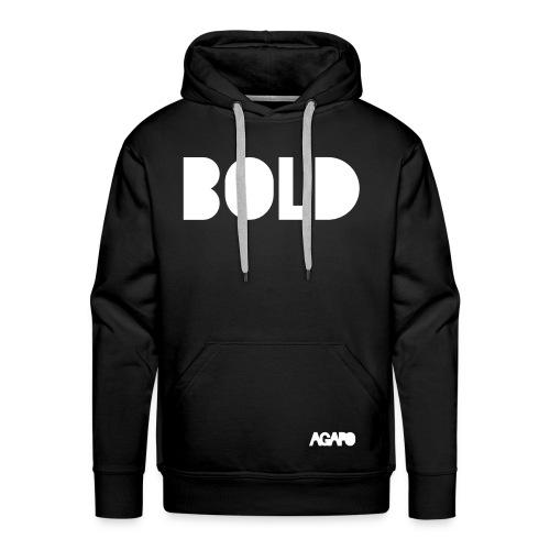 bold w/b - Männer Premium Hoodie