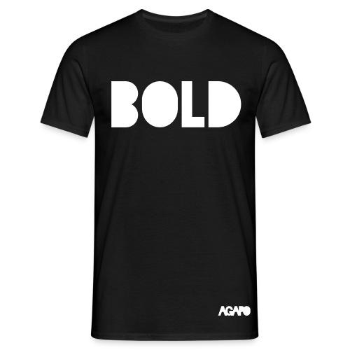 bold w/b - Männer T-Shirt