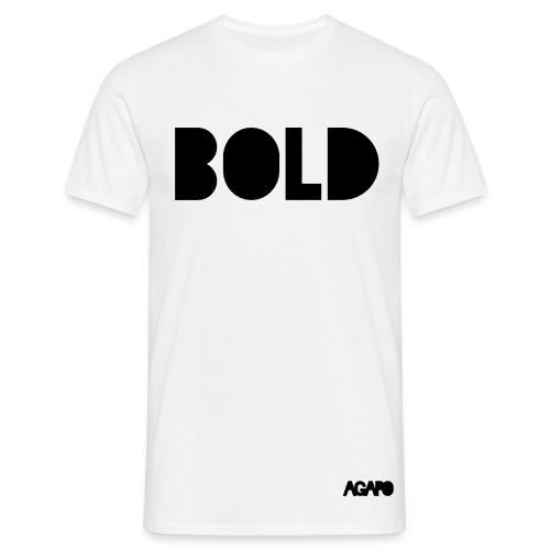 bold b/w - Männer T-Shirt