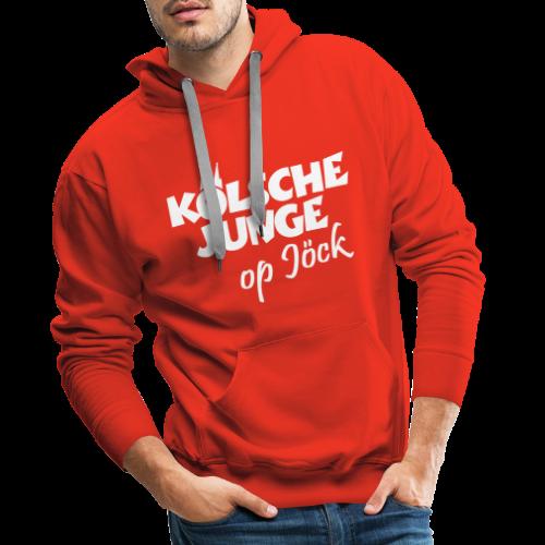 Kölsche Junge op Jöck Hoodie - Männer Premium Hoodie