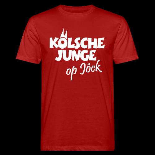 Kölsche Junge op Jöck Bio T-Shirt - Männer Bio-T-Shirt