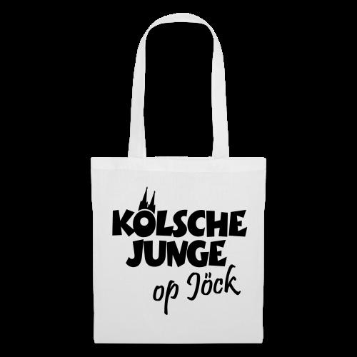 Kölsche Junge op Jöck Stofftasche - Stoffbeutel
