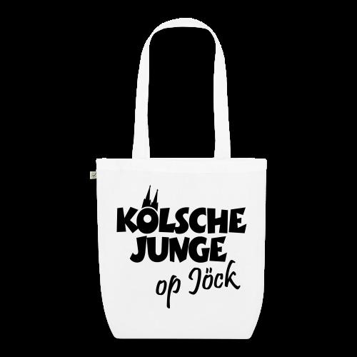 Kölsche Junge op Jöck Bio Stofftasche - Bio-Stoffbeutel