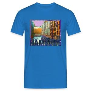 Vor Anker in Hamburg: Speicherstadt - Männer T-Shirt
