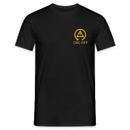 T-Shirts ~ Men's T-Shirt ~ DSC-Off Shirt with logo & text on front and back