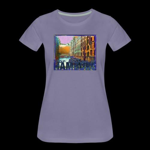 Vor Anker in Hamburg: Speicherstadt - Frauen Premium T-Shirt