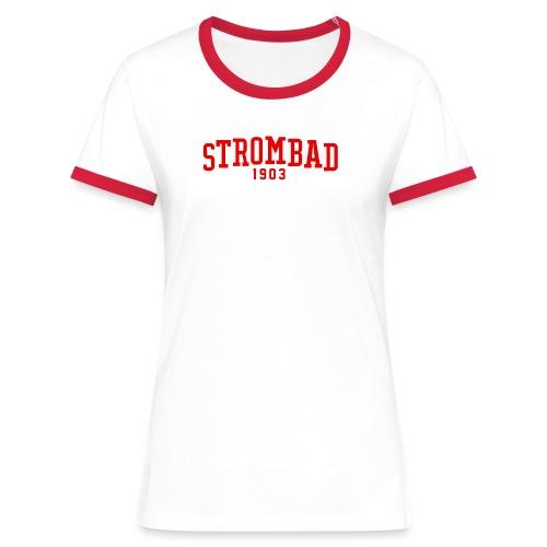 Strombad College retro - Frauen Kontrast-T-Shirt