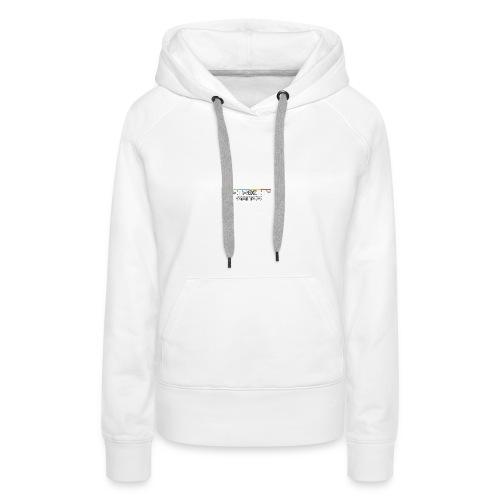 pull blanc  - Sweat-shirt à capuche Premium pour femmes