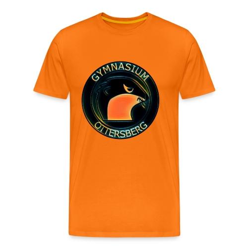 Orange Black - Männer Premium T-Shirt