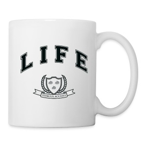 Life University - Shit Happens - Athletics Logo - Mug