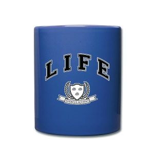 Life University - Shit Happens - Athletics Logo - Full Colour Mug