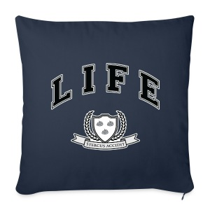 Life University - Shit Happens - Athletics Logo - Sofa pillow cover 44 x 44 cm