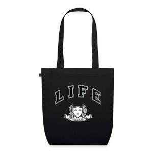 Life University - Shit Happens - Athletics Logo - EarthPositive Tote Bag