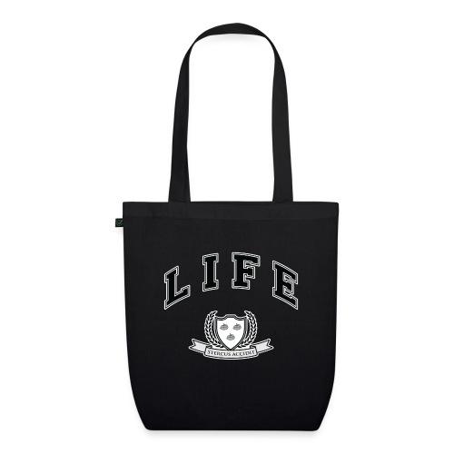 Life University - Shit Happens - Athletics Logo - EarthPositive Tote Bag