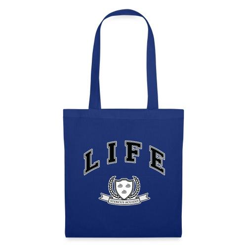 Life University - Shit Happens - Athletics Logo - Tote Bag