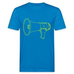 Megafon / Megaphon  - Männer Bio-T-Shirt