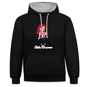 Sweat-shirt mixte Left 4 Dreams - Sweat-shirt contraste