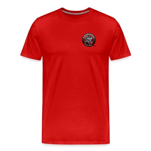 Sideline Shirt 3V rot - Männer Premium T-Shirt