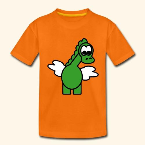 Camiseta Dragoncito-Niño y Niña 2 a 8 años - Camiseta premium niño