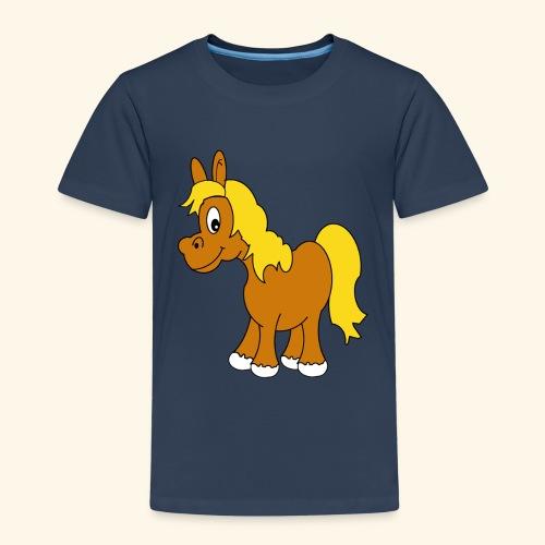 Camiseta Caballito-Niño y Niña 2 a 8 años - Camiseta premium niño