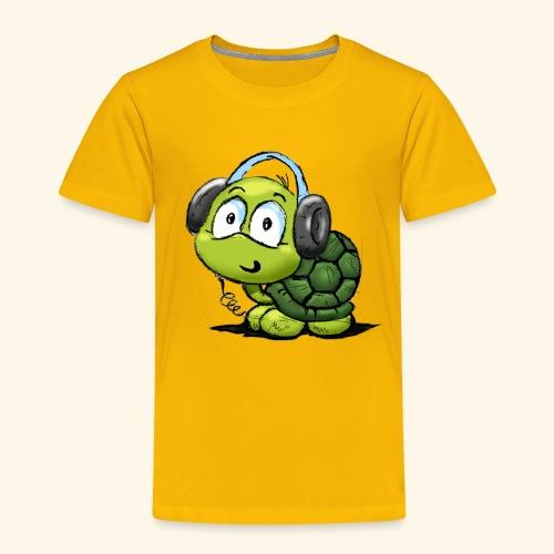 Camiseta Tortuga-Niño y Niña 2 a 8 años - Camiseta premium niño