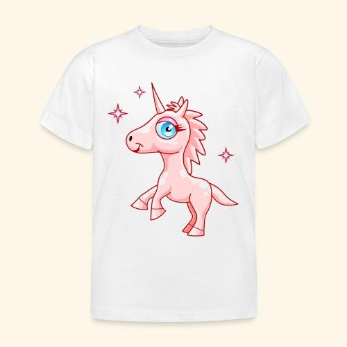 Camiseta Unicornio rosa-Niña 3 a 8 años - Camiseta niño
