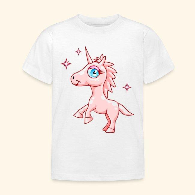 e6d822b29 Camiseta Unicornio rosa-Niña 3 a 8 años