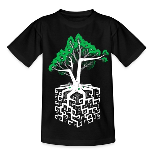 Cube Root - Racine Cubique - Teenage T-Shirt