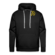 Hoodies & Sweatshirts ~ Men's Premium Hoodie ~ Hoodie with DSC logo on front and back incl text on back