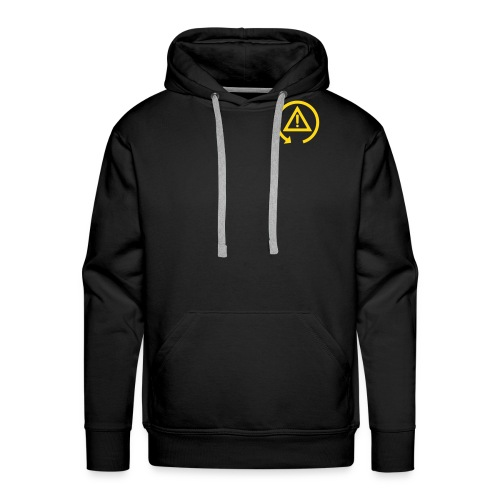 Hoodie with DSC logo on front and back incl text on back  - Men's Premium Hoodie