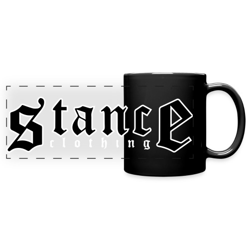 Logo Mug (Black) - Full Color Panoramic Mug