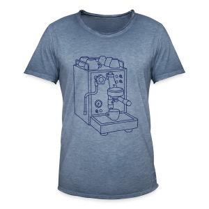 Espressomaschine Barista - Männer Vintage T-Shirt