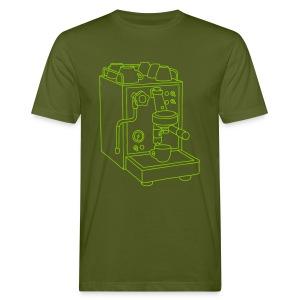 Espressomaschine Barista - Männer Bio-T-Shirt