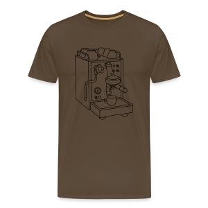 Espressomaschine Barista - Männer Premium T-Shirt