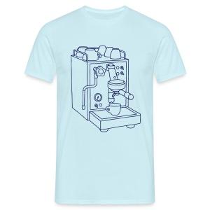 Espressomaschine Barista - Männer T-Shirt