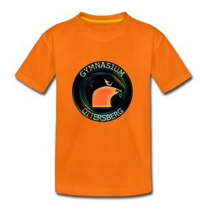 Orange Black - Teenager Premium T-Shirt