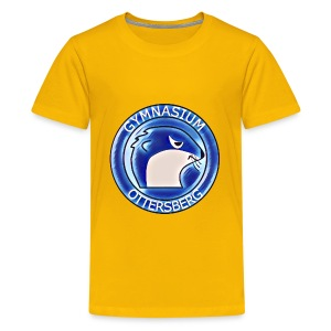 Yellow Blue Vintage - Teenager Premium T-Shirt