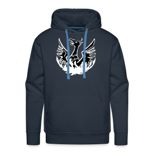 emergency hoody - men's navy WITH NAME - Men's Premium Hoodie